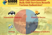 How can International Bulk SMS Services Benefit Various Industries?